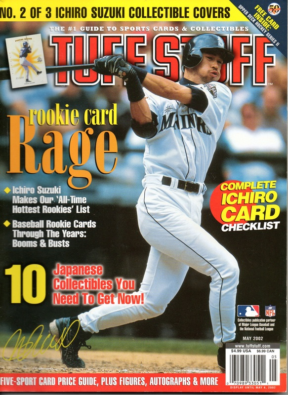 2002 May Tuff Stuff Price Guide W Ichiro Suzuki On Cover