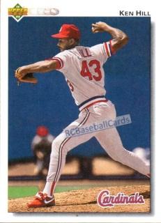 1992 St Louis Cardinals Baseball Trading Cards Baseball