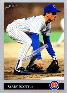 1992 Chicago Cubs Baseball Trading Cards Baseball Cards By