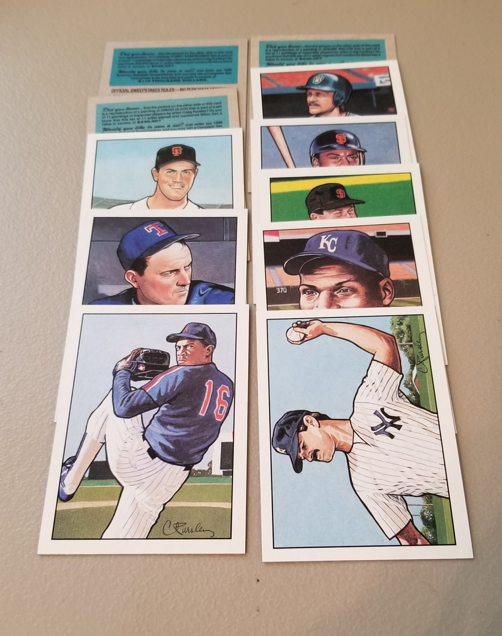 1990 1994 Baseball Trading Card Sets For Sale Baseball Cards By