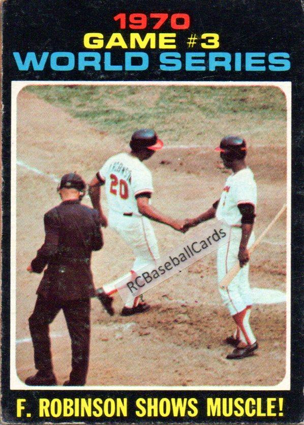 1970 1974 Baltimore Orioles Vintage Baseball Trading Cards
