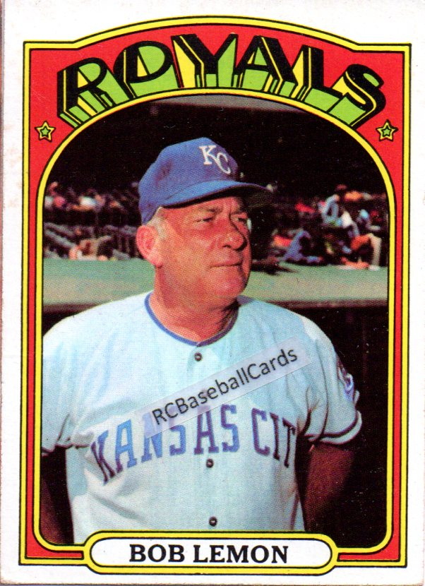 1970 1974 Kansas City Royals Vintage Baseball Trading Cards