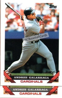 1993 Baseball Error Trading Cards For Sale Baseball Cards By