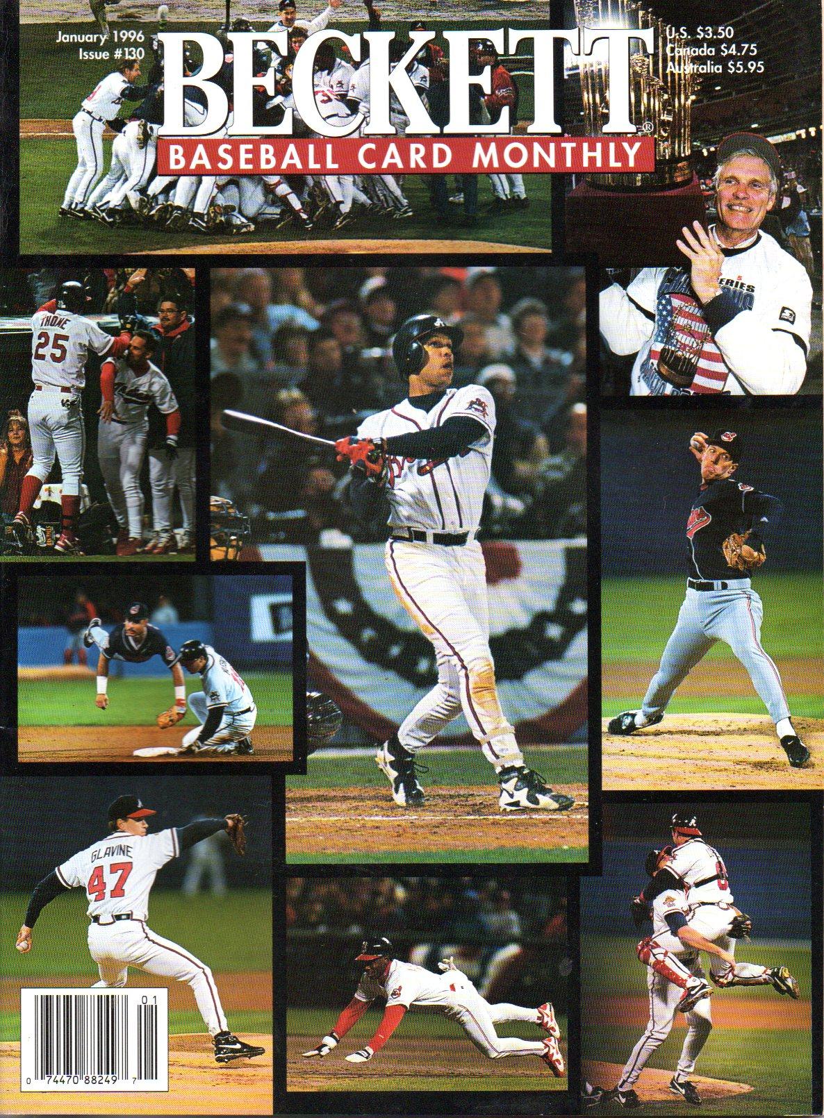 1970s To 2000s Baseball Books Tuff Stuff Price Guids For Sale