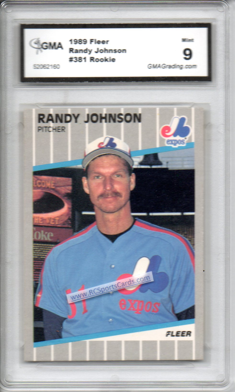 1985 1989 Baseball Graded Cards For Sale Baseball Cards