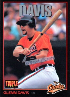 1993 Orioles Baseball Trading Cards Baseball Cards By